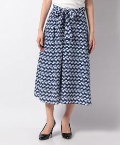 【セットアップ対応】ジオメトリックプリントスカート