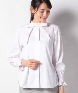 【洗える】コットンストレッチブロード シャツ