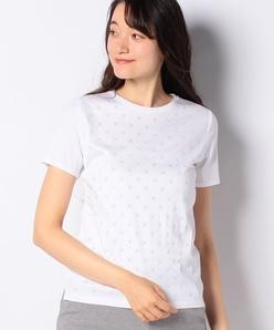 【洗える】ラインストーン Tシャツ