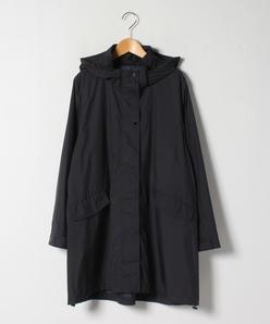 【大きいサイズ】軽量ポリエステル フーデッドコート