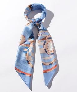 パネルプリント ツイルスカーフ