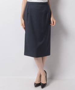 【セットアップ対応】ストレッチウールタイトスカート