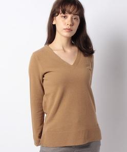 エクストラファインニットVネックセーター