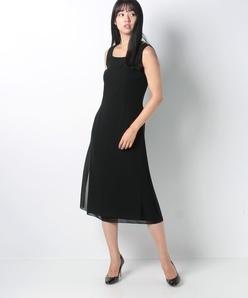 【フォーマル】シフォンジョーゼット ドレス