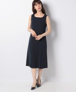 ストレッチジョーゼット ドレス