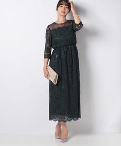 【フォーマル】ラッセルレースドレス