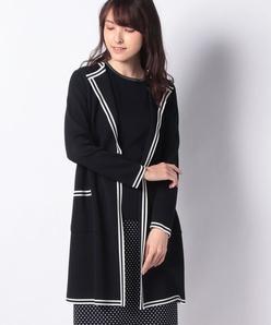 【アンサンブル対応】シルク混ミラノリブニットジャケット