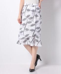 オリジナルプリントスパンビエラ/レイヤードスカート