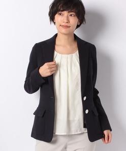 【セットアップ対応】リップルジャージー/テーラードジャケット