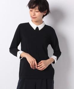 ARINA 刺繍衿プルオーバー