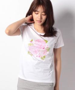 【洗える】オリジナルプリント/コットン天竺Tシャツ
