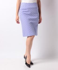 【セットアップ対応】透かしジャガードジャージー スカート
