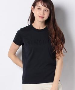 【洗える】エンボス ロゴTシャツ