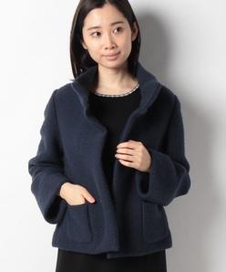 スレッド編み ニットジャケット