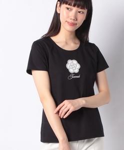 【洗える】スーピマコットンポンチ プリントTシャツ