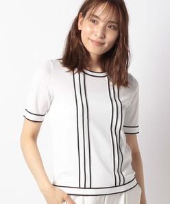 【SONA】16ゲージ天竺ニットプルオーバー