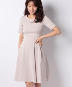 【セットアップ対応商品】AMOSSA ミラノリブニットドレス