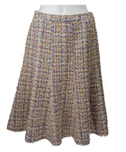 【セットアップ対応】フラッグモールファンシーツィードスカート