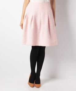 【セットアップ対応】ファンシーツィードスカート