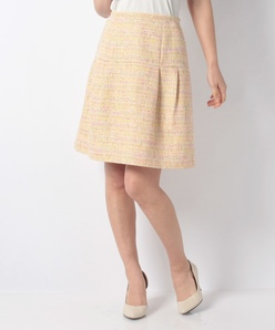 CAMPORE ミックスツィードスカート