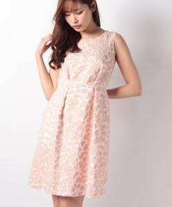 Dutel アニマルカットジャカードドレス