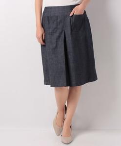 【洗える】ハイパーデニム スカート