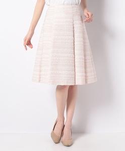 【セットアップ対応】ファンシーツィード スカート