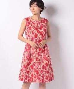 フラワージャカード ドレス