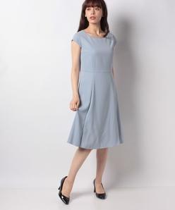 ドビークロス フレンチスリーブ ドレス