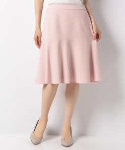 【セットアップ対応】【洗える】シルキーストレッチ スカート
