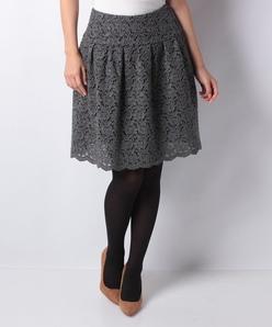 ウールレース スカート