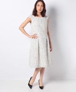 【セットアップ対応】LINTONツィード ドレス