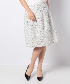 【セットアップ対応】LINTONツィード スカート