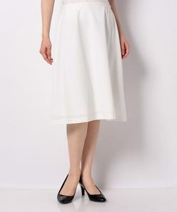 【洗える】ライトドライギャバ Aラインスカート