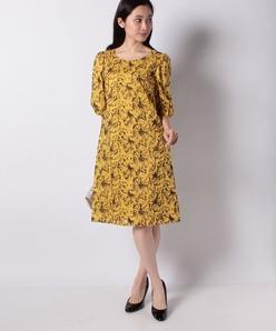 コットンフラワー刺繍ドレス