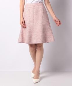 LA TORRE ツィードフレアスカート