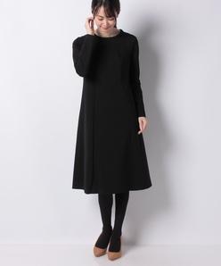 【セットアップ対応】ツイルジャージードレス
