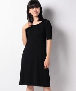 ハノン リブニットドレス