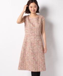 【セットアップ対応】カンポーレツィード ドレス