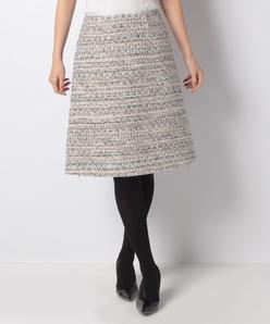 【セットアップ対応】クラレンソン チェックツイードスカート
