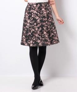 Dutel フラワージャカードスカート