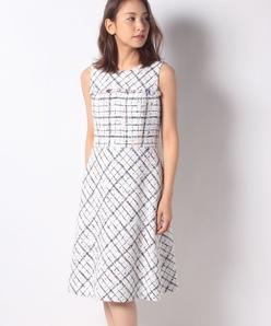 【セットアップ対応】クラレンソンツイード ドレス