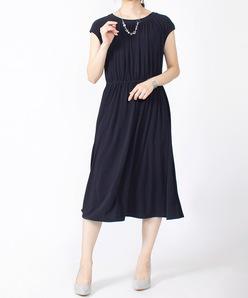 【洗える】ペオススムース ドレス