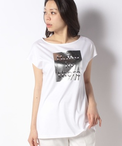 【洗える】アリオリティスムース プリントTシャツ