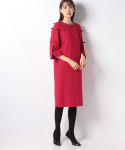 ドレス/バックサテンジョーゼット