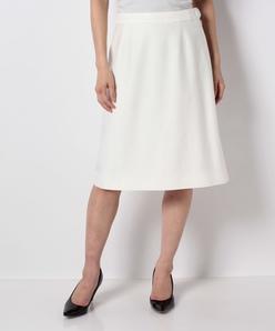 【セットアップ対応】ストレッチグログラン Aラインスカート