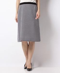 【セットアップ対応】ギャラクティックチェックジャカードジャージー Aラインスカート