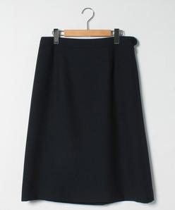 【大きいサイズ]【セットアップ対応】オックス ミドル丈スカート