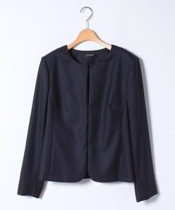 【大きいサイズ】【セットアップ対応】シルクウールジャケット