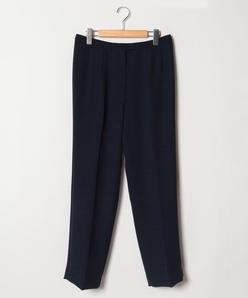 【大きいサイズ】二重織り/ストレートパンツ